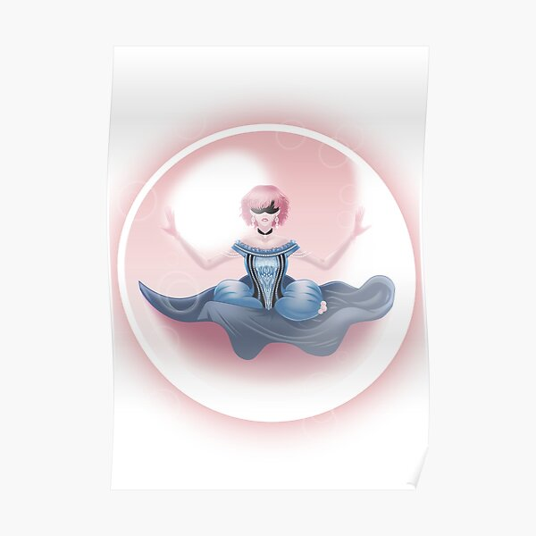 Princess in a bubble Poster