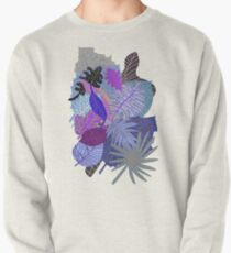 Ultraviolet Fade Nature Leaves Pullover