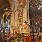A Pillar in Ely by Graeme  Hyde