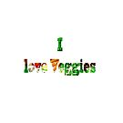 I love Veggies  by bywhacky