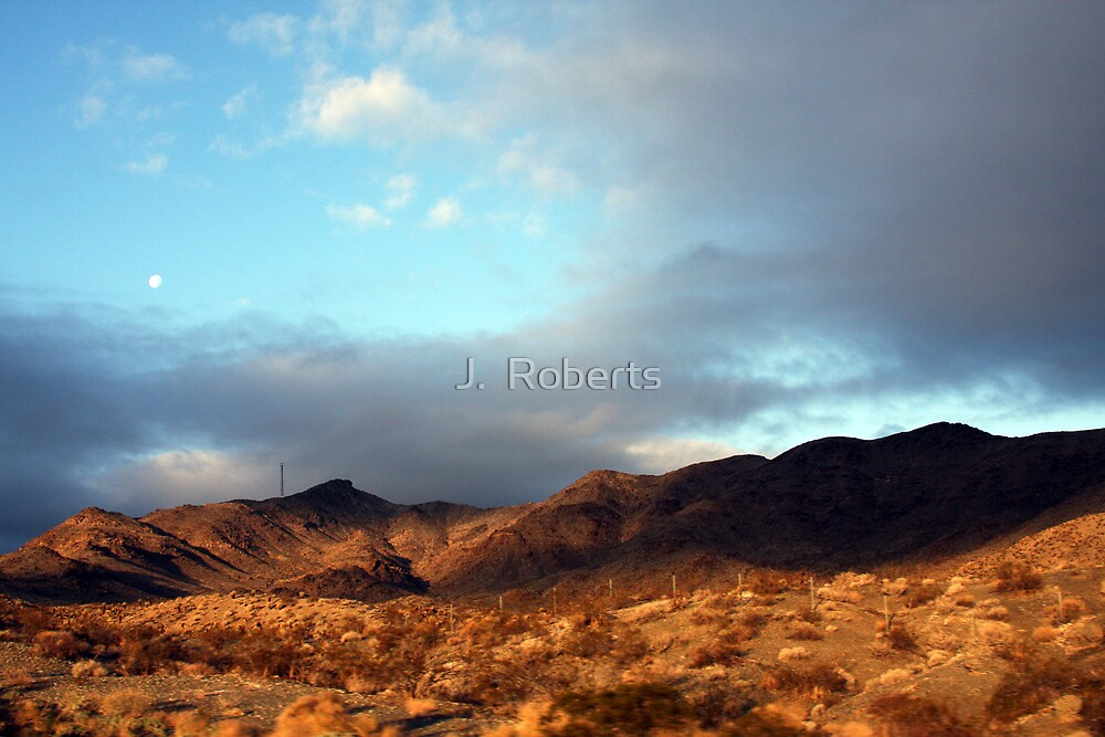 California Mountains by J.  Roberts