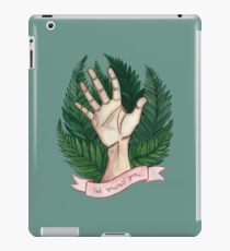 Let yourself grow iPad Case/Skin