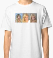 Paris Hilton Mugshot T-shirt classique