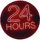 24 hrs in red  by bywhacky