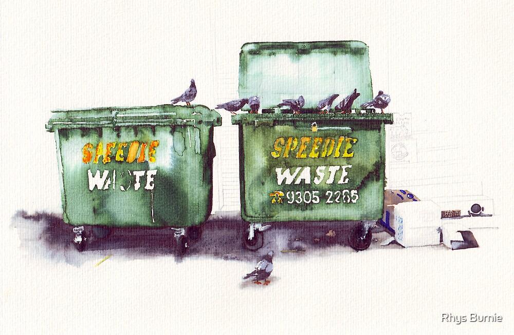 Speedie Waste by Rhys Burnie