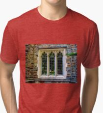 Three Vintage Windows Tri-blend T-Shirt
