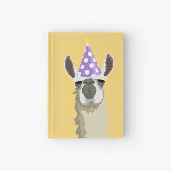 Birthday Llama Hardcover Journal