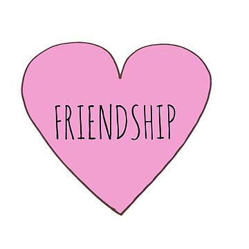 Friendship Love by Bundjum