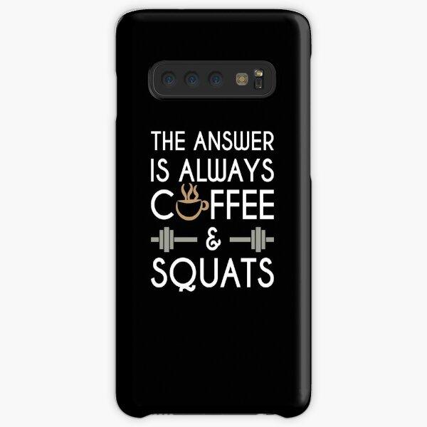 Coffee & Squats Samsung Galaxy Snap Case