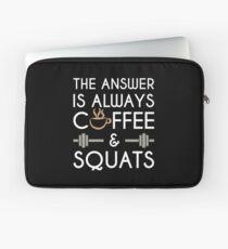 Coffee & Squats Laptop Sleeve