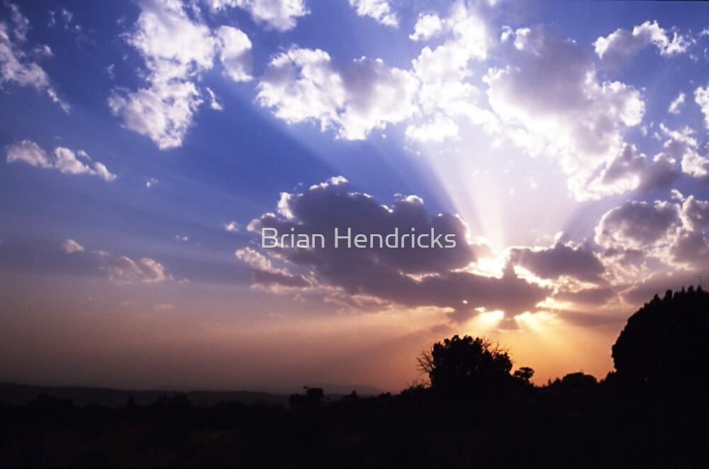 Dusty Sunset by Brian Hendricks