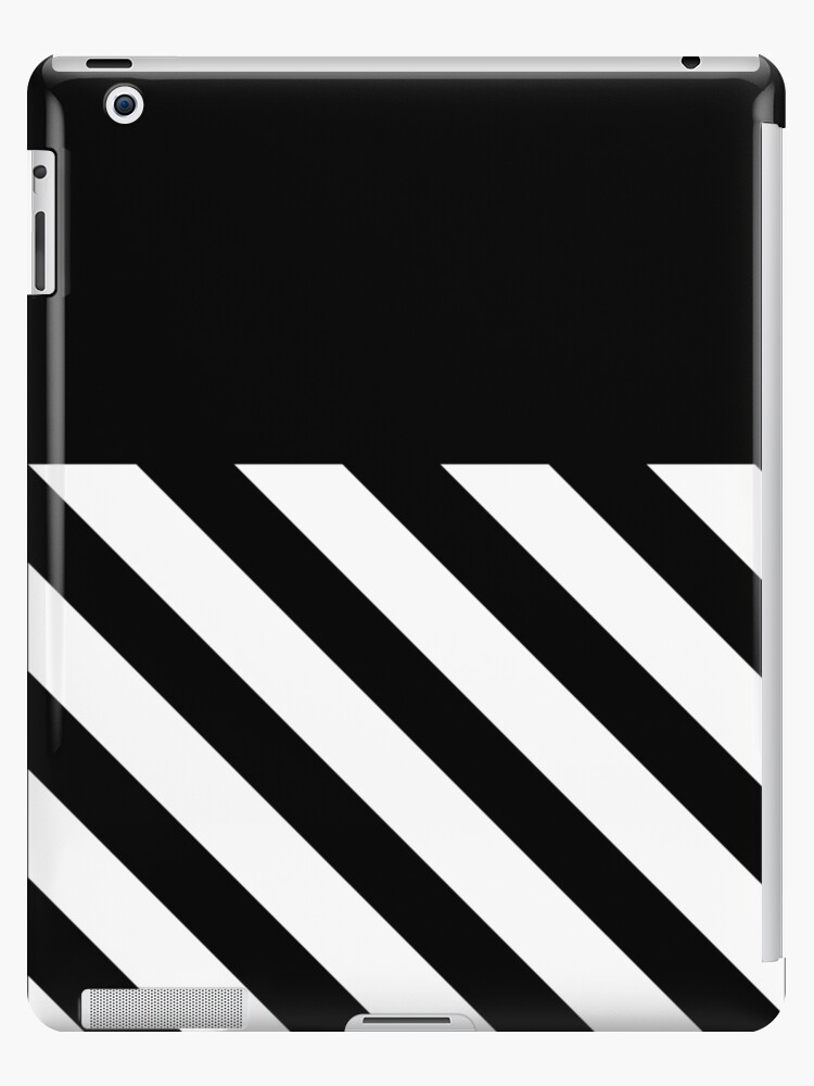 new style b09a2 acd7a 'OFF WHITE' iPad Case/Skin by melvinraju