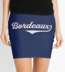 Bordeaux - France - Vintage Sports Typography Mini Skirt