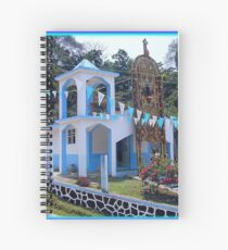 """Remote Chapel with """"Arco de Flores"""" Spiral Notebook"""