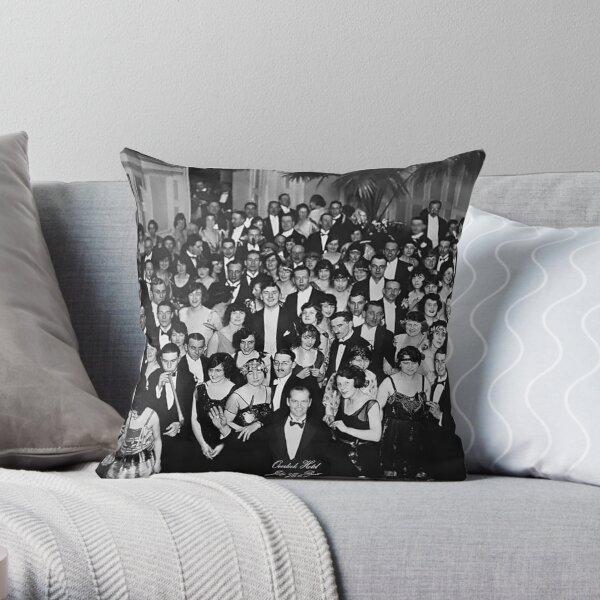 Overlook Hotel 1921 Throw Pillow