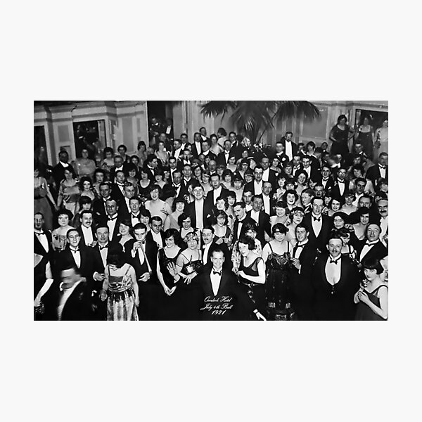 Overlook Hotel 1921 Photographic Print