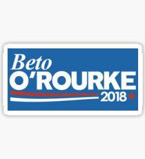 Beto O'Rourke 2018 Bumper Sticker Sticker