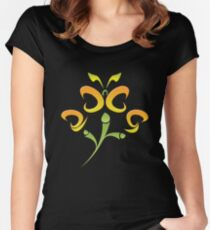 2009 - Colorful Flutter Women's Fitted Scoop T-Shirt