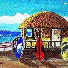 Oko's Bros Surf Shack by WhiteDove Studio kj gordon