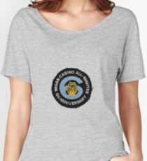Wigan Casino All Nighter Soul 6th Anniversary 22/9/1979 Patch Women's Relaxed Fit T-Shirt