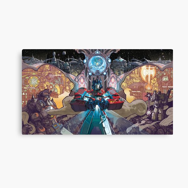 Ascension of Orion Pax Canvas Print