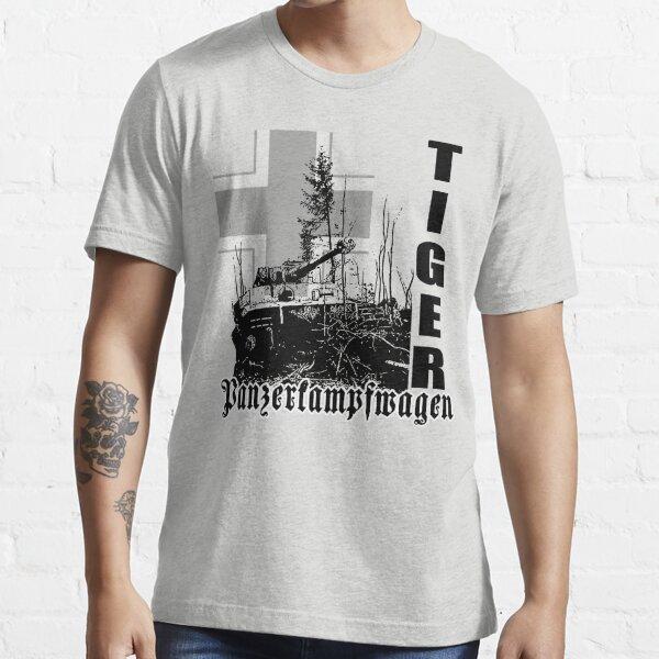 tiger tank Panzerkampfwagen Essential T-Shirt