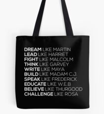 BLACK POWER BLACK HISTORY - PANTHERS EXCELLENCE LIVES MATTER Tote Bag