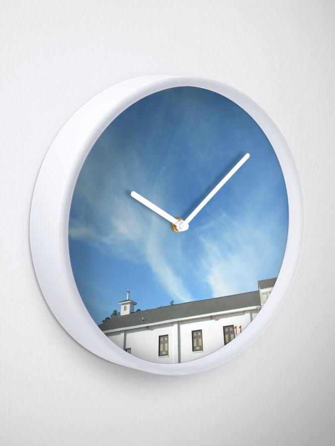 Alternate view of Angels Over Oak Grove Baptist Clock