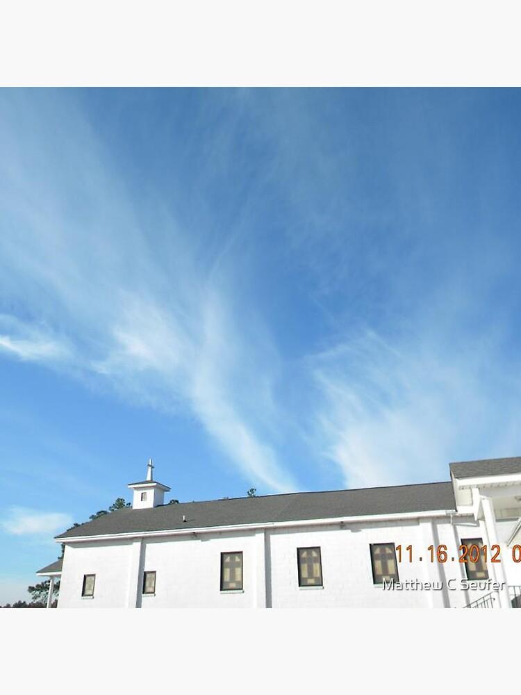Angels Over Oak Grove Baptist by windowsfromheav