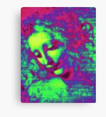 Portrait of a Women Canvas Print