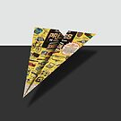 Olympic Sales Club Comic Book Ad Paper Airplane by YoPedro