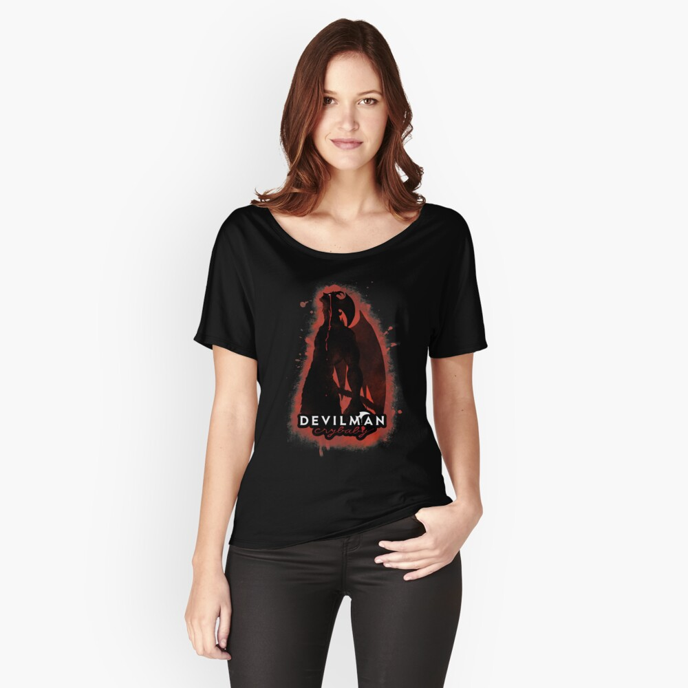 """DEVILMAN crybaby"" T-shirt by cassiore 