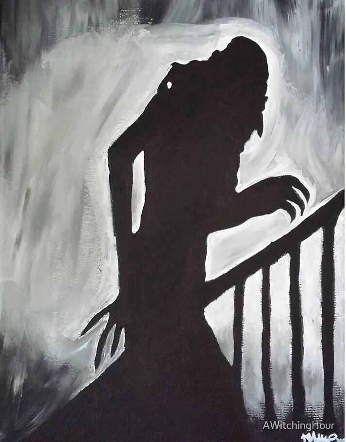 Nosferatu, la silueta del vampiro» de AWitchingHour | Redbubble