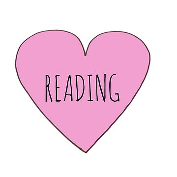I Love Reading by Bundjum