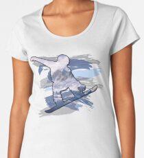 Snowboard  Women's Premium T-Shirt