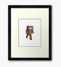 Mecha Pedobear Framed Print