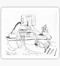 Compter desk Sticker