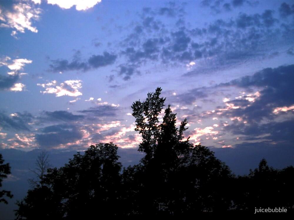 beautiful sky by juicebubble