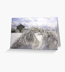 WINTER IN PA Greeting Card