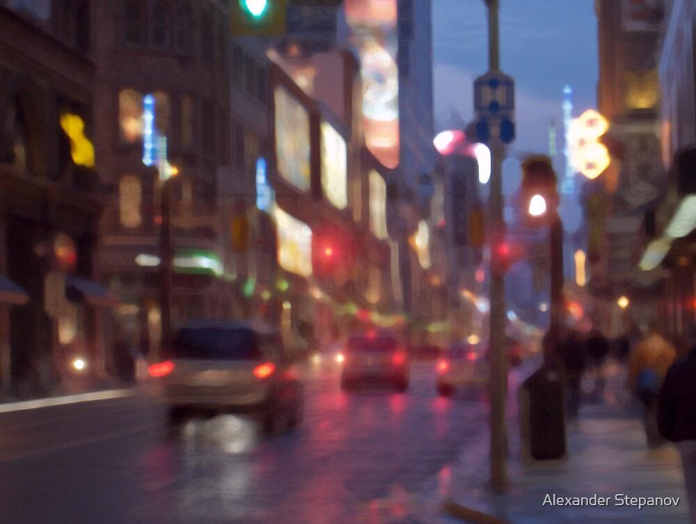 Toronto Downtown  1 by Alexander Stepanov