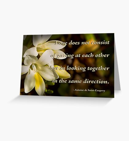 Love . . . Greeting Card