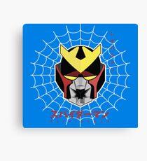Japanese Spiderman (Supaidaman) - Leopardon Canvas Print