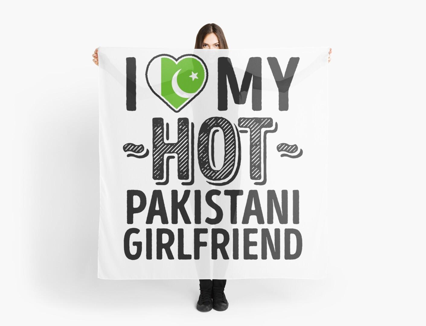 I love my hot pakistani girlfriend cute pakistan couples romantic love t shirts stickers scarf