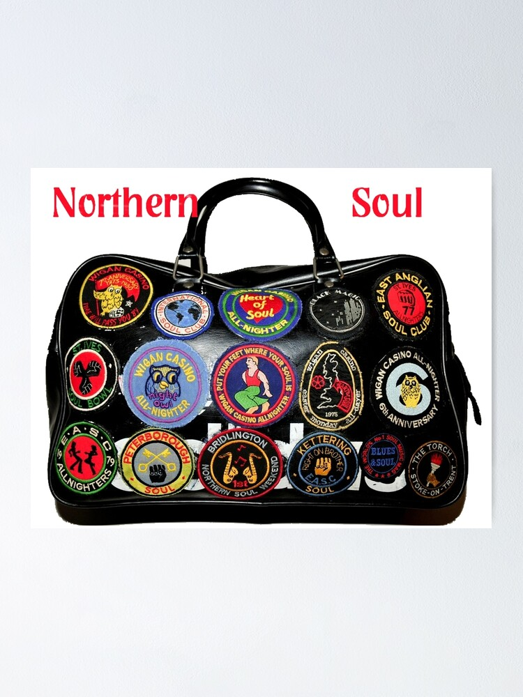 Northern Soul Purse // Wallet Wigan Ladies Keep The Faith Purse Scooter Purse