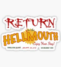 Return to the Hellmouth Sticker