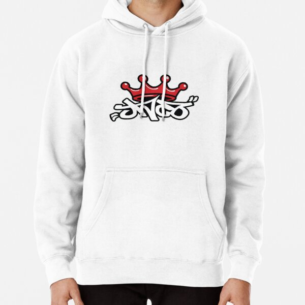 Jean Company Throwback logo Pullover Hoodie