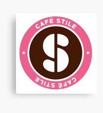 Blend S Cafe Stile Logo Canvas Print