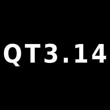 QT 3.14 Pi Cutie Pie Pun by ciciyu