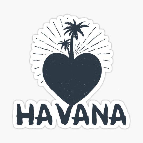 My Heart In Havana Sticker