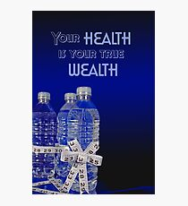 Healthy Choice Photographic Print